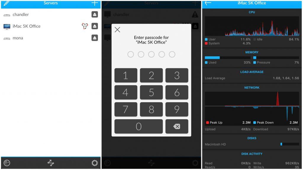 iStat Phone Screen