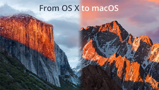 From OS X to macOS