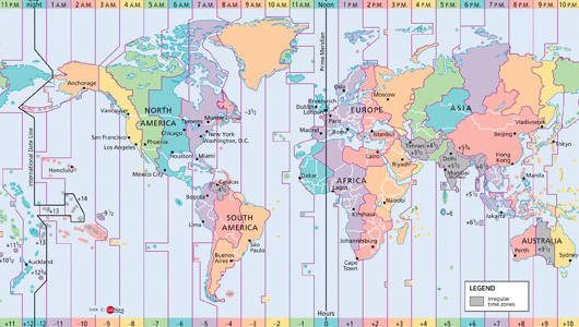 In Time Zone Map.Explaining Time Zones And Best Practices For Configuring Time On Servers