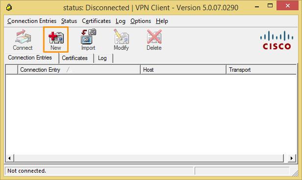New VPN