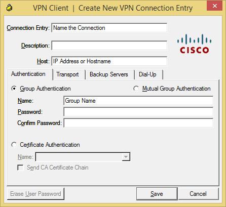 VPN Create