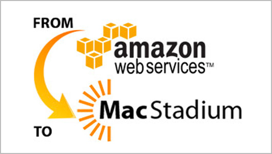 Moving from AWS to MacStadium