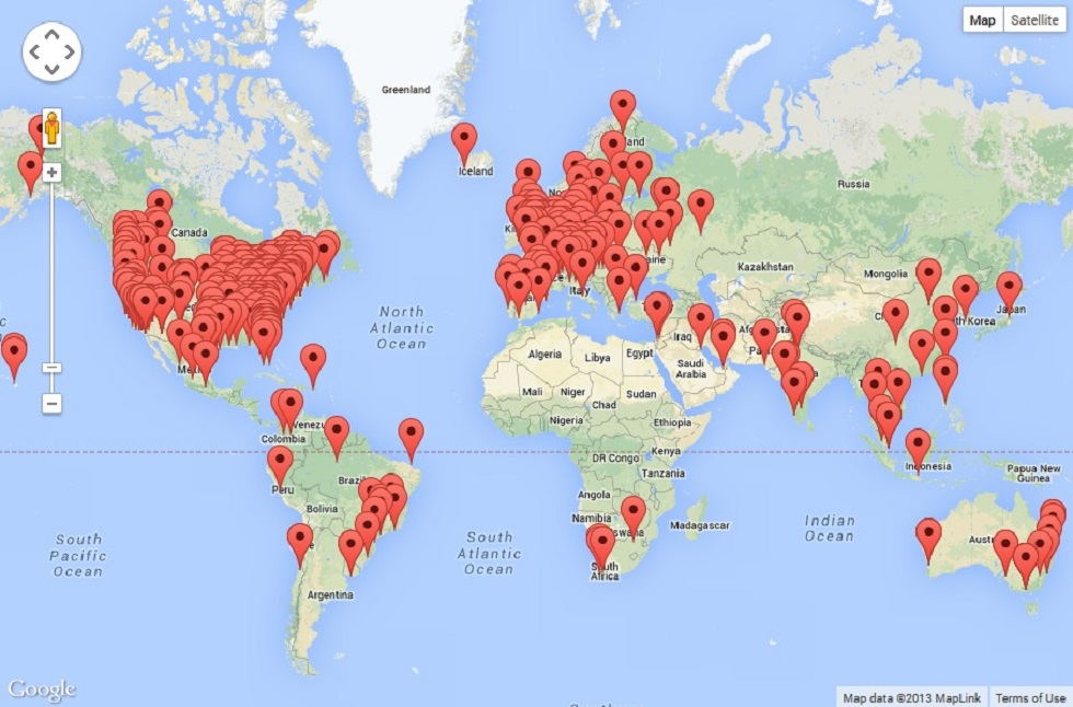 Customers around the world