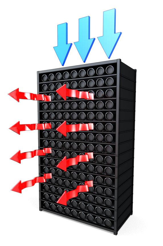 Mac Pro data center rack