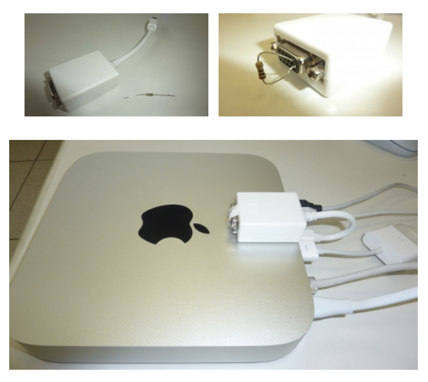 Mac mini dongle