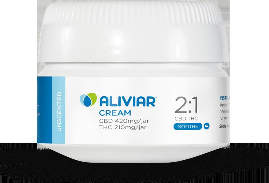 2:1 CBD:THC Cream (Unscented)