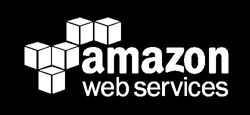 Amazon Web Services Logo White