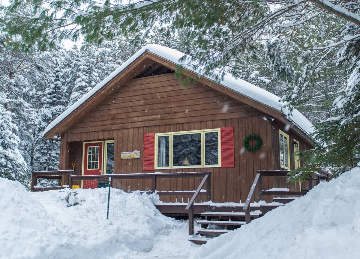 April Melody Chalet in Winter