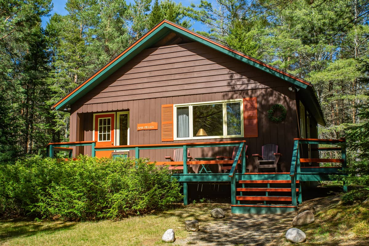 April Melody Chalet in Summer