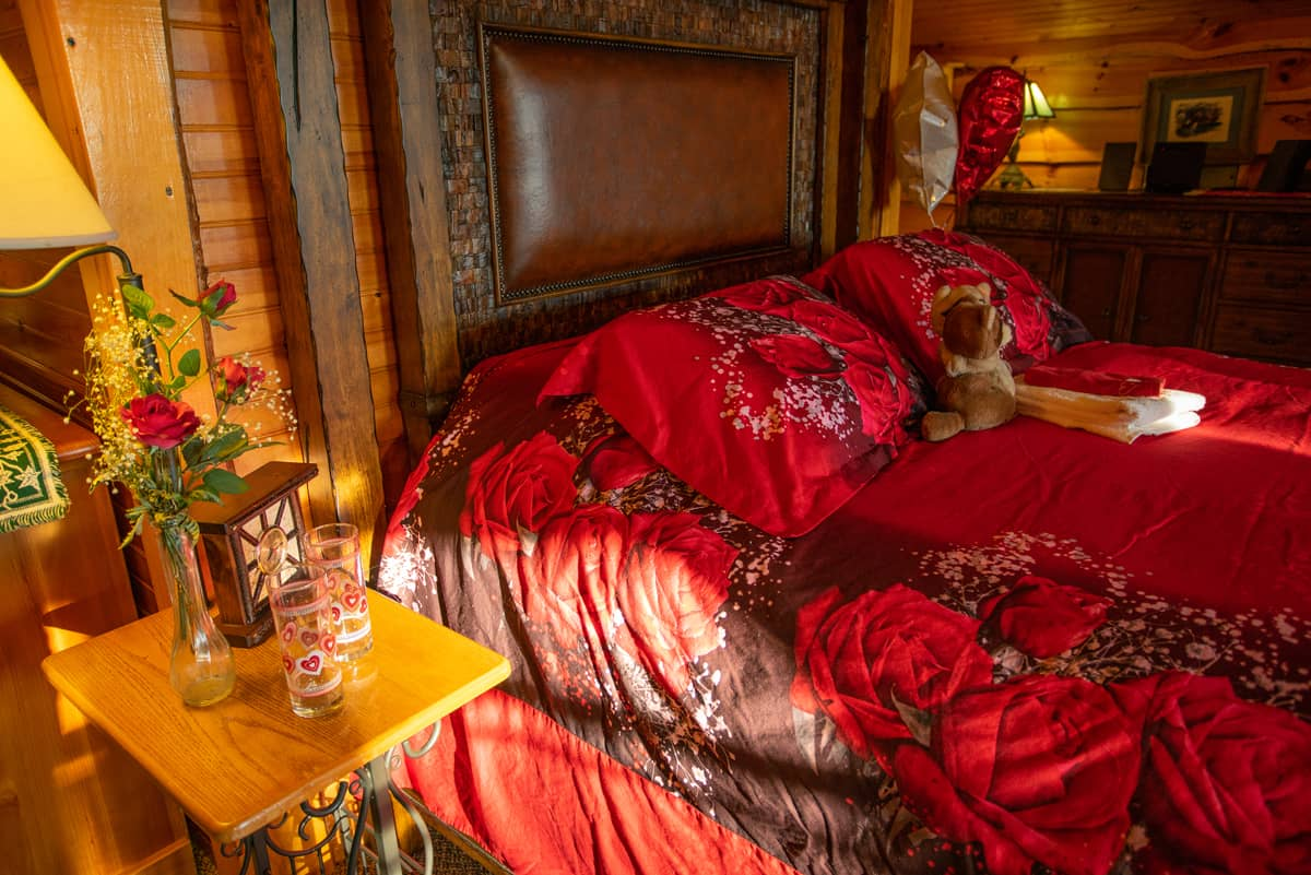 Romance package for two in Eagle's Nest Suite