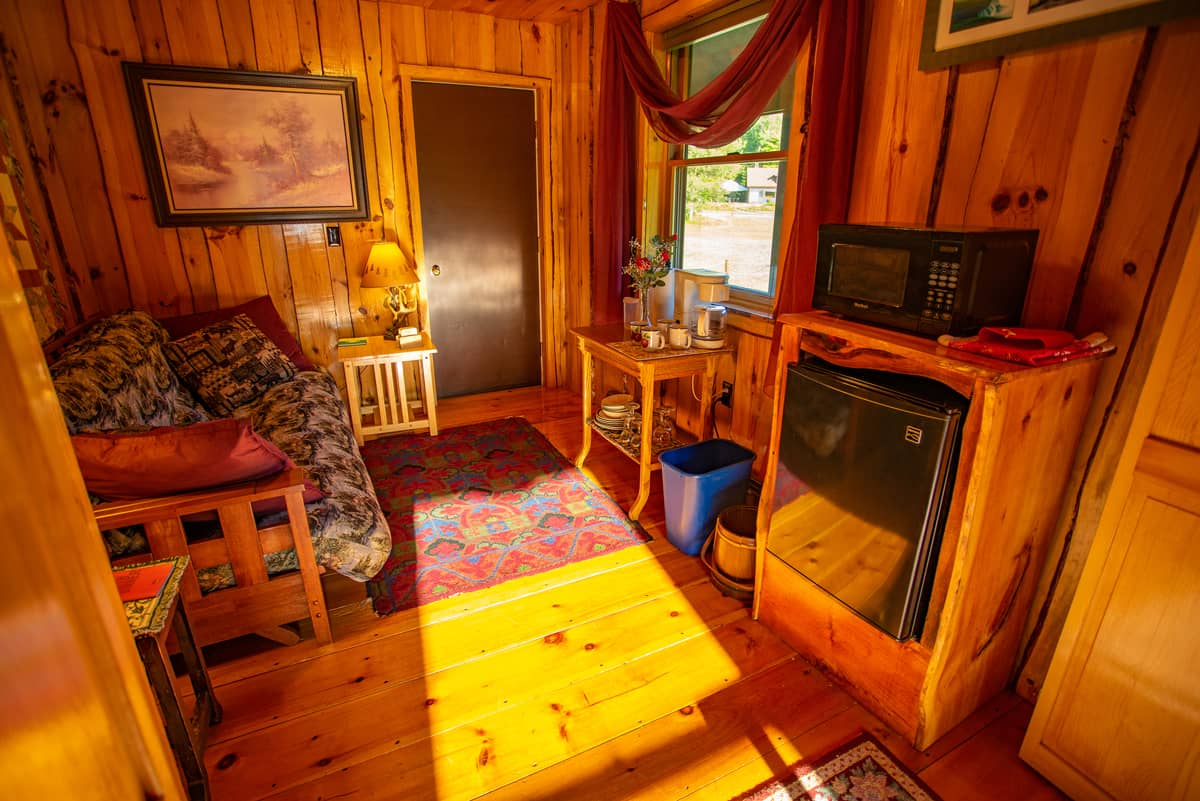Reflections suite den with mini-fridge, microwave and coffee maker