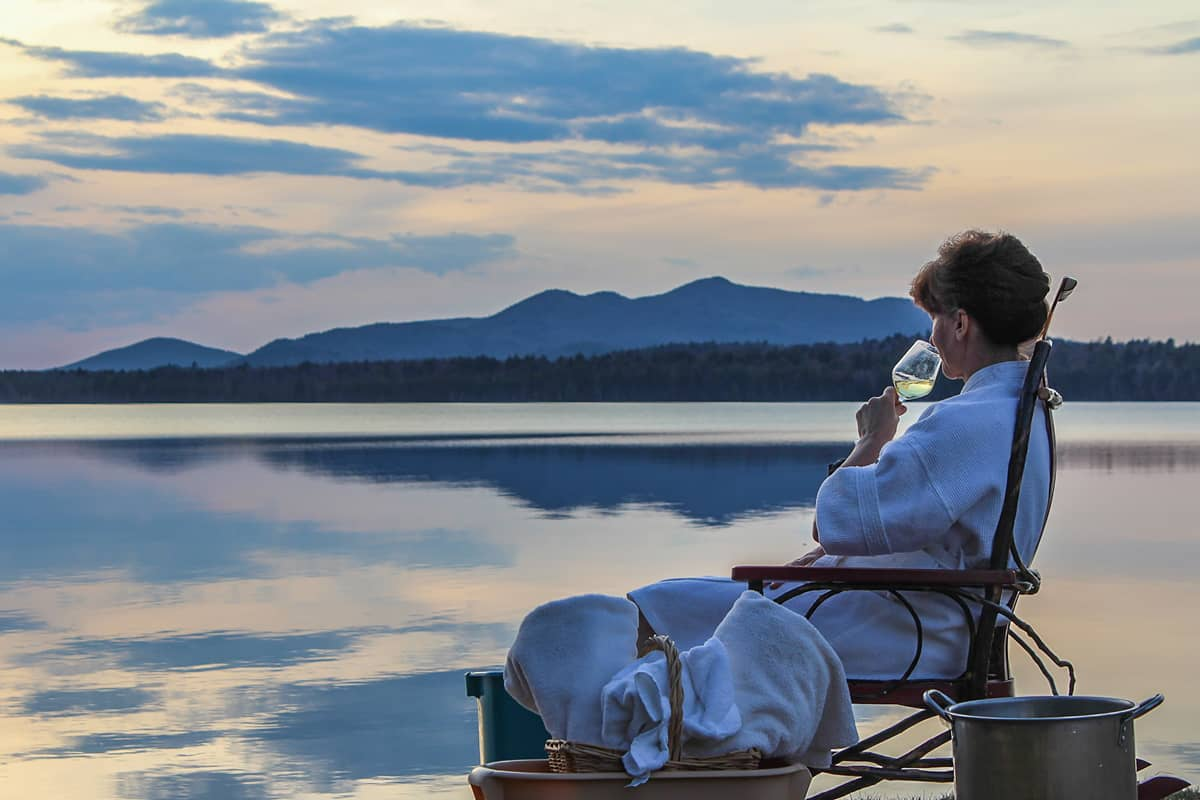 Lake Front Spring Wellness Rejuvenation at the Lake Clear Lodge
