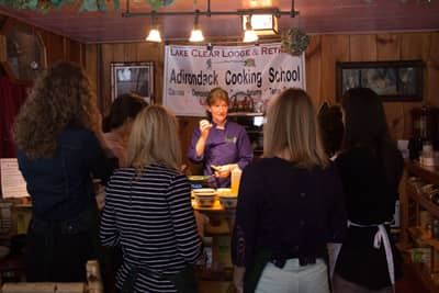 Cooking Classes, Demonstrations & Retreats with Executive Chef Cathy Hohmeyer