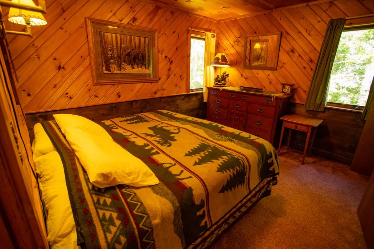 April Melody Chalet Master Bedroom