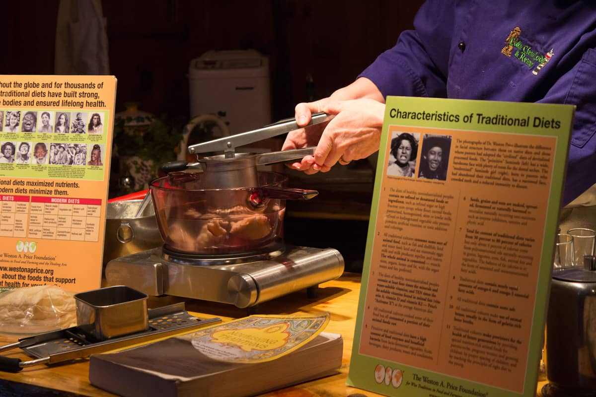 Traditional Foods Cooking Demonstration with Cathy Hohmeyer