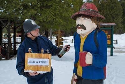 Speakeasy Fun at the Lake Clear Lodge & Retreat