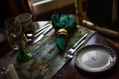 Adirondack Alps Dining Room at the Lake Clear Lodge & Retreat