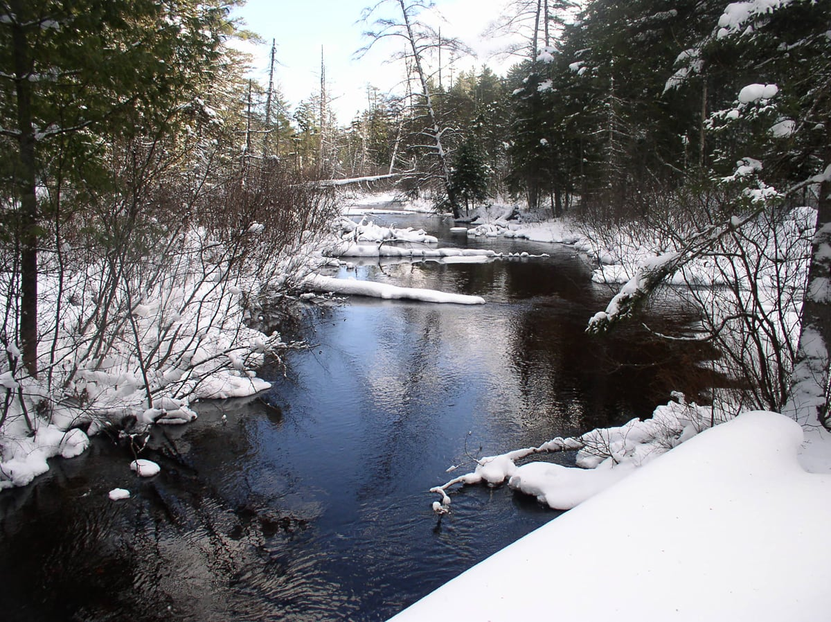 The Osgood River in the Adirondack Park, NY