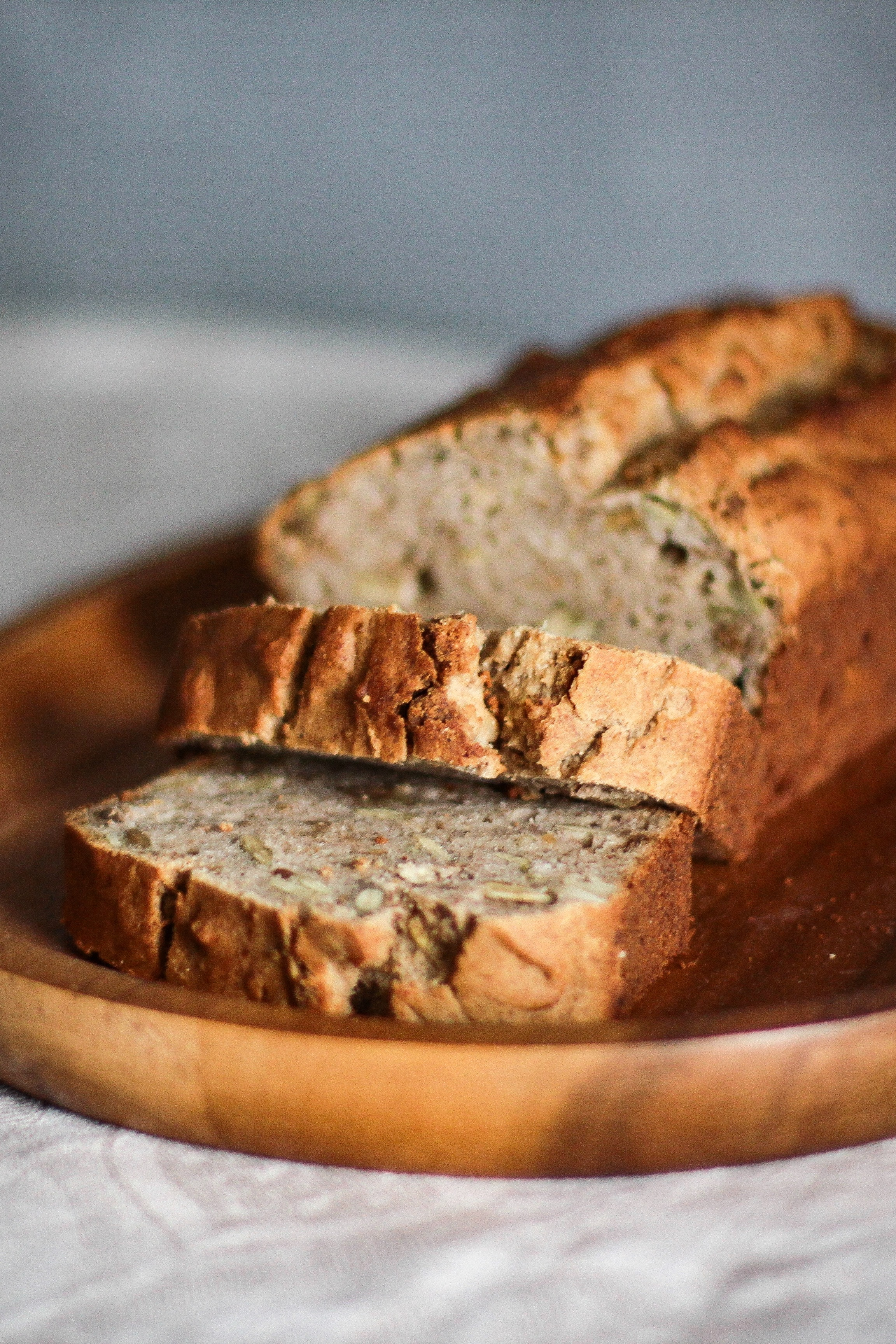 Beer bread with oats