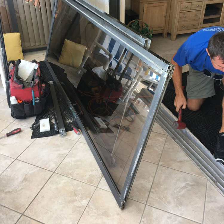 sliding glass door roller replacement