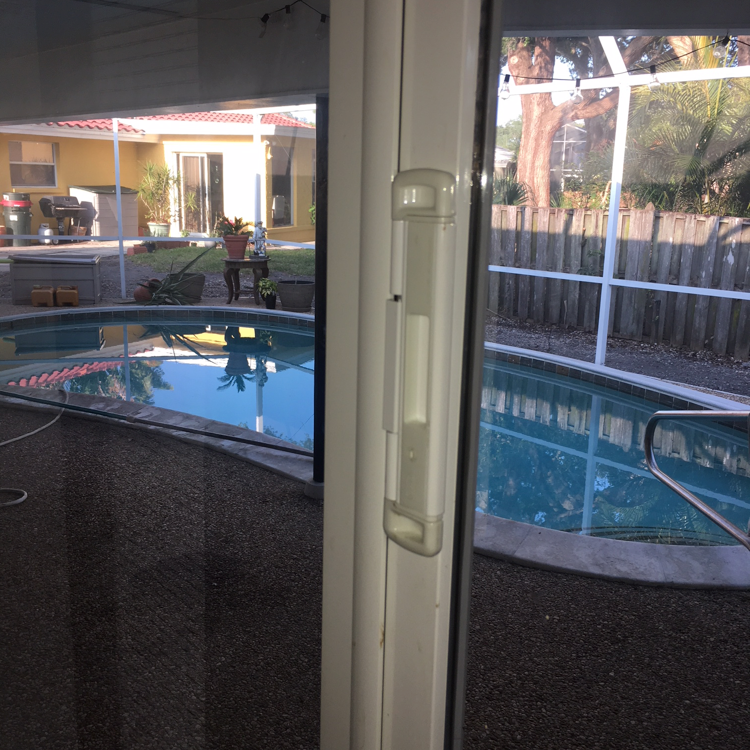 securing sliding doors