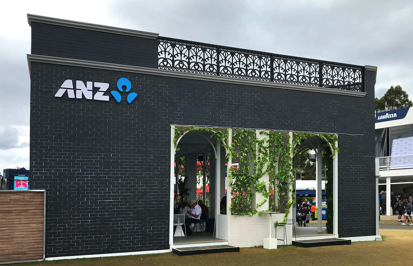 ANZ Activation Zone Grand Slam Oval 2020