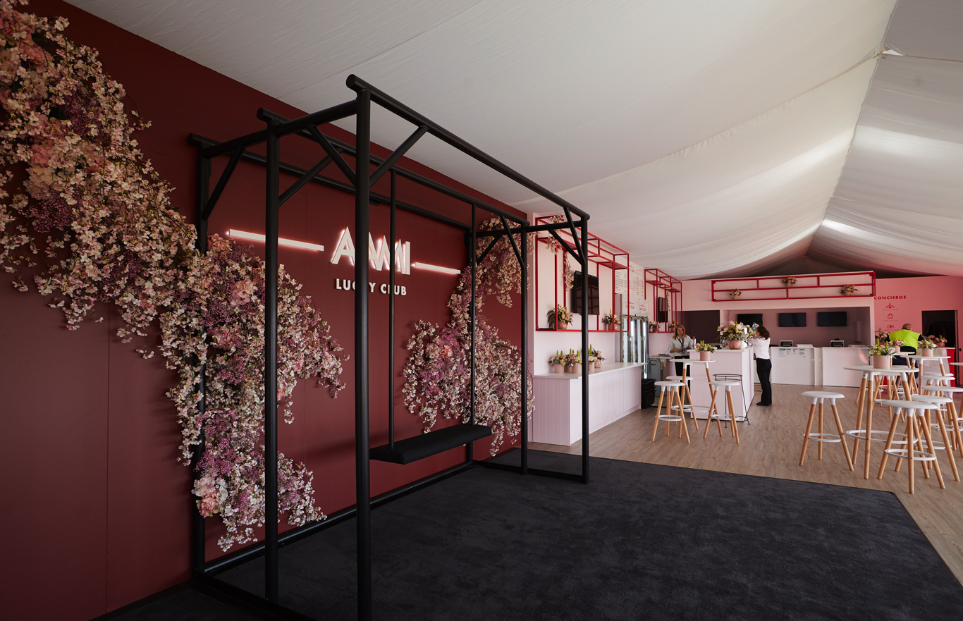 Temporary Structures and Event Design (Melbourne Cup 2019)