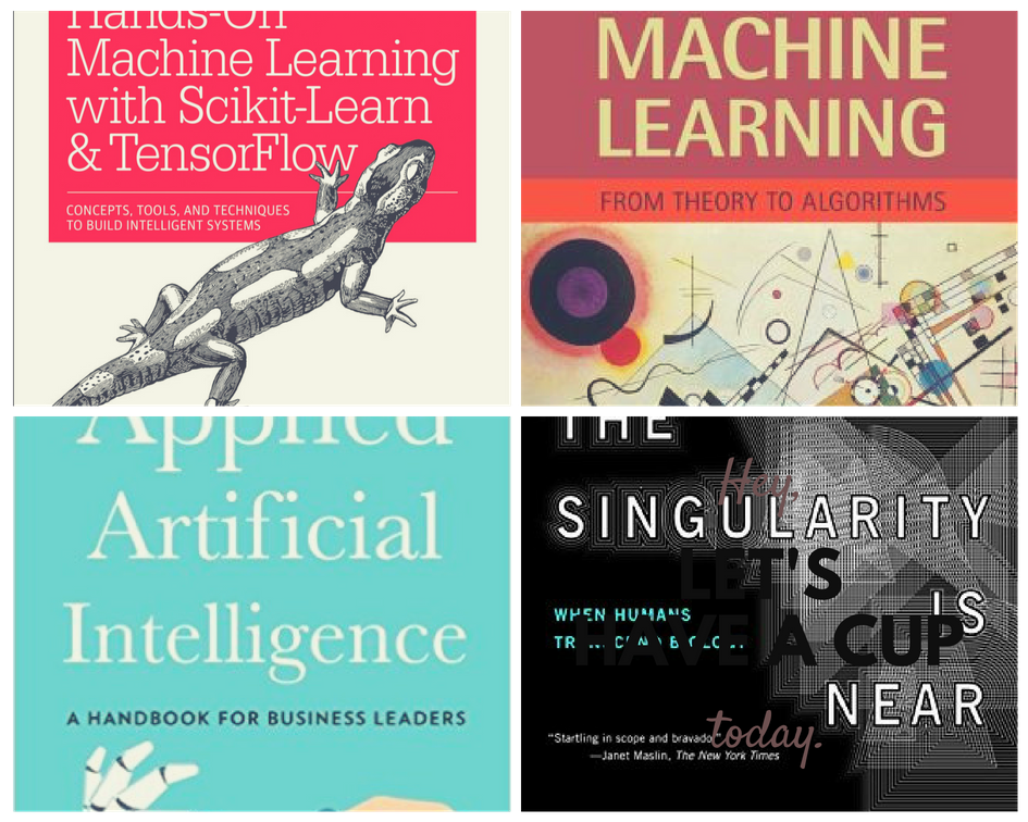 10 Essential Books on Machine Learning & AI
