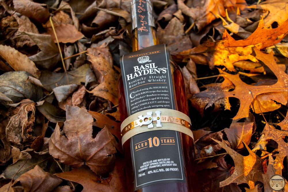 Basil Hayden S 10 Year Bourbon Breaking Bourbon