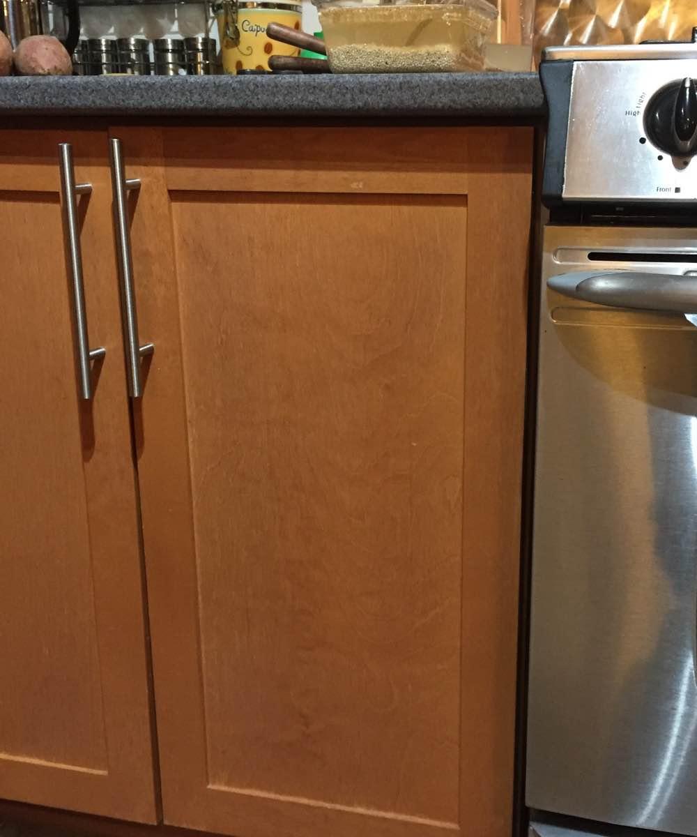 Wood kitchen cabinets restored in Ottawa On