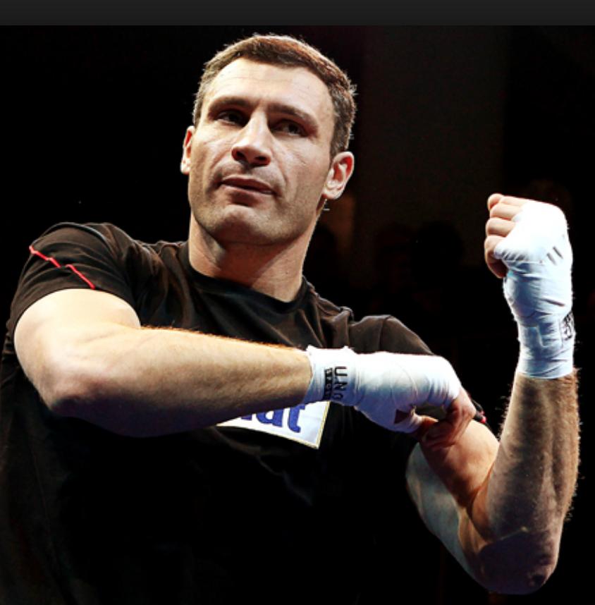 Heavyweight Boxer Vitali Klitschko Top Heavyweights