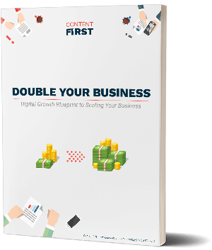 High conversion landing page design agency content first the double your business blueprint malvernweather Image collections
