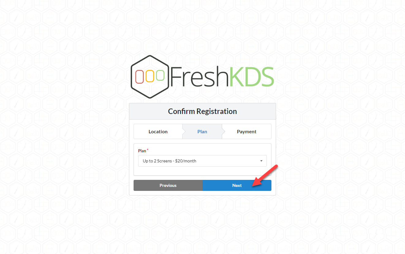 Fresh KDS Signup Step 5