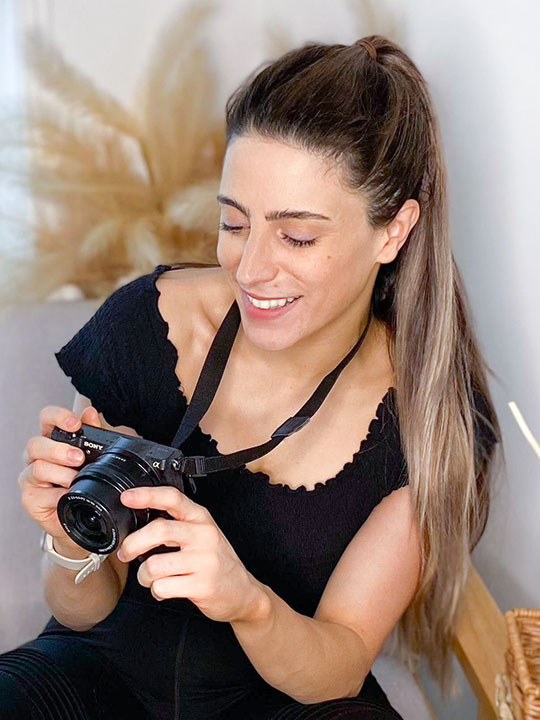 Videographer Catherine Rutter