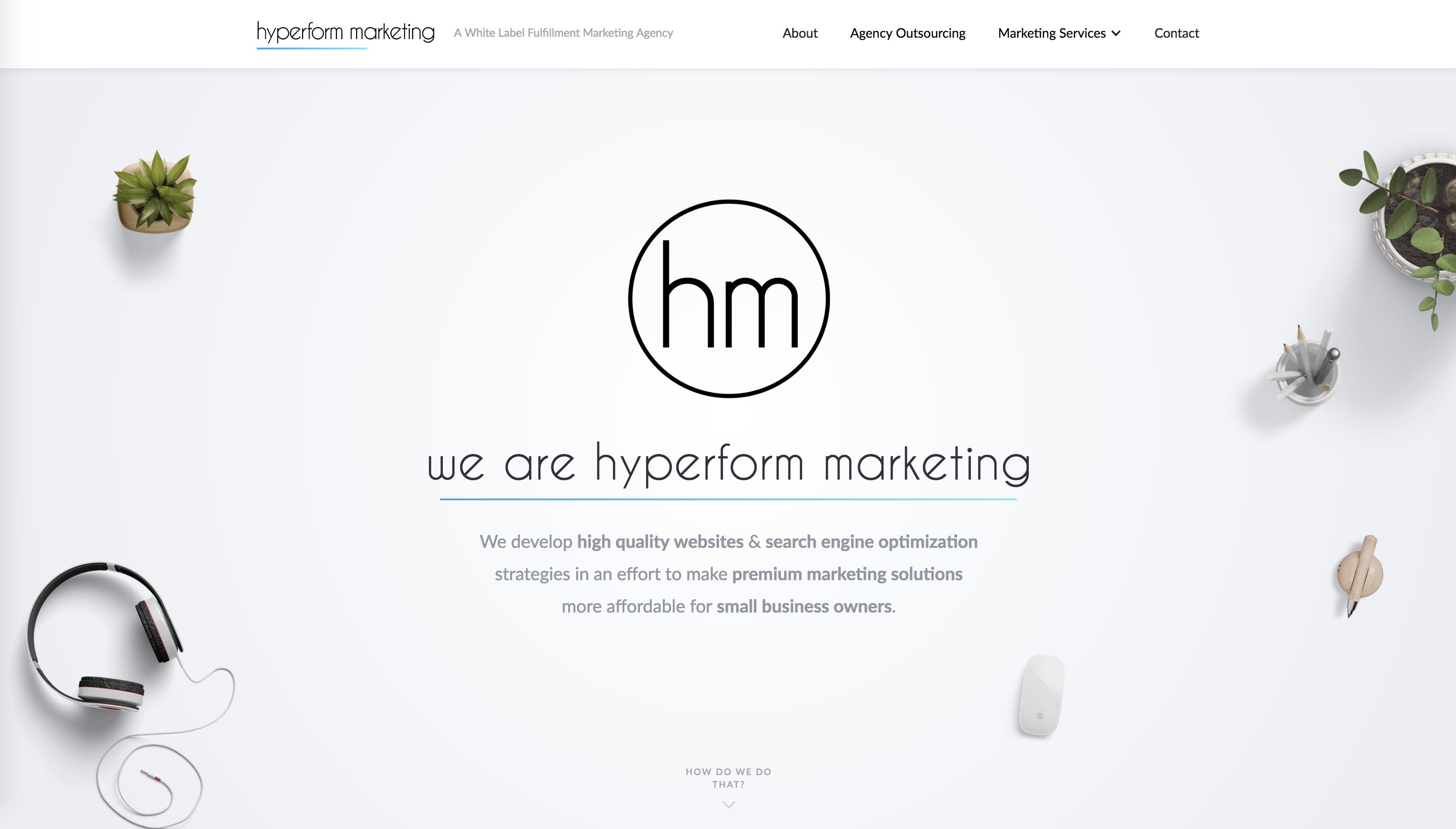 Hyperform Marketing | White Label Marketing Agency