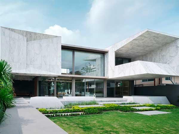 façade marbre