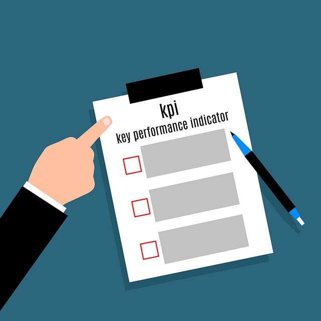 checklist of KPIs