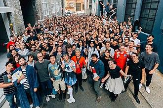 picture of Canva's team in Sydney, Australia