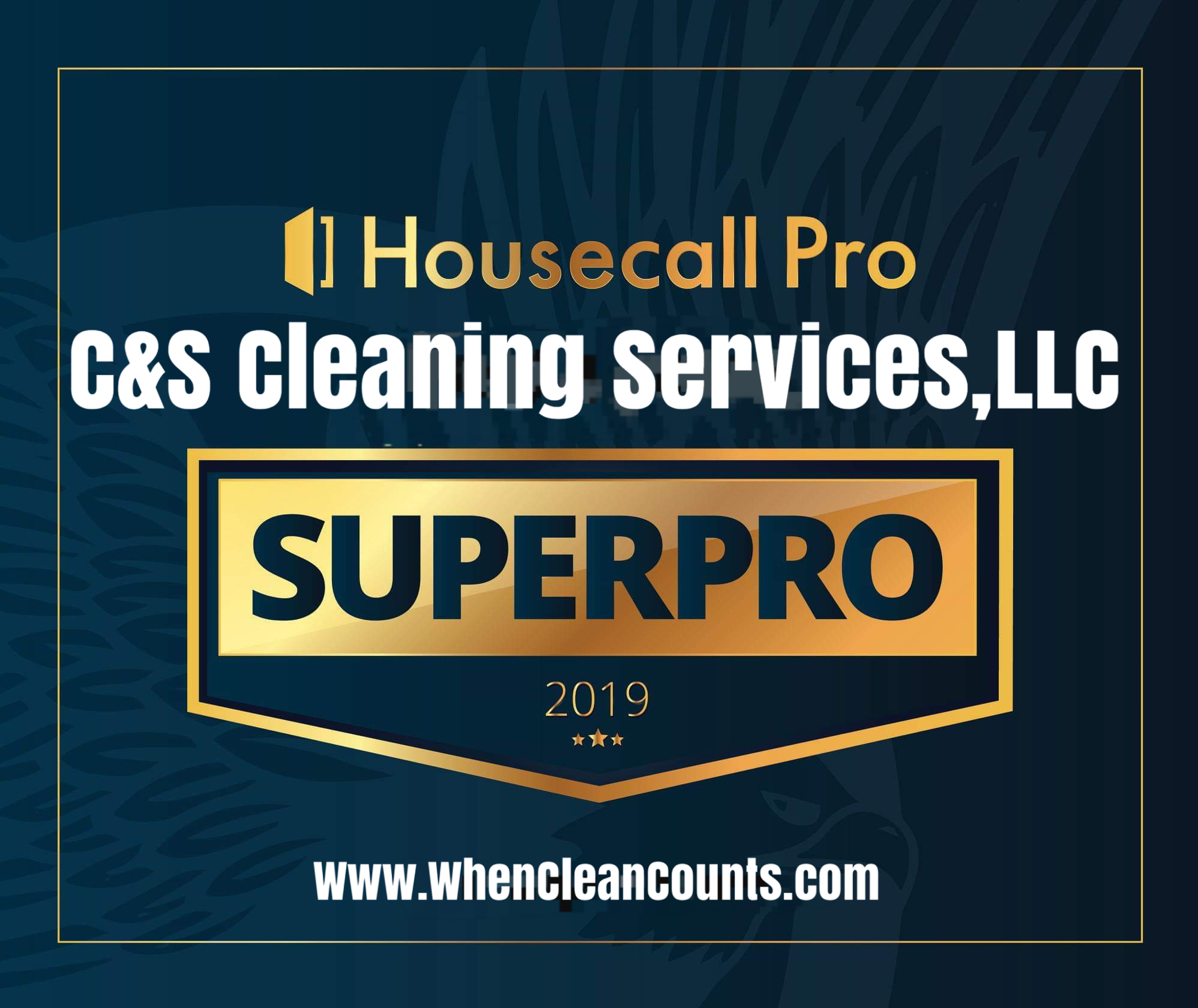 2019 HouseCall Pro Superpro Award