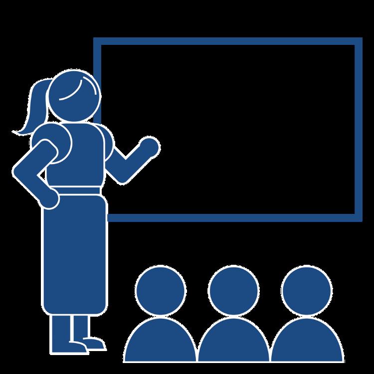 Teacher classroom icon