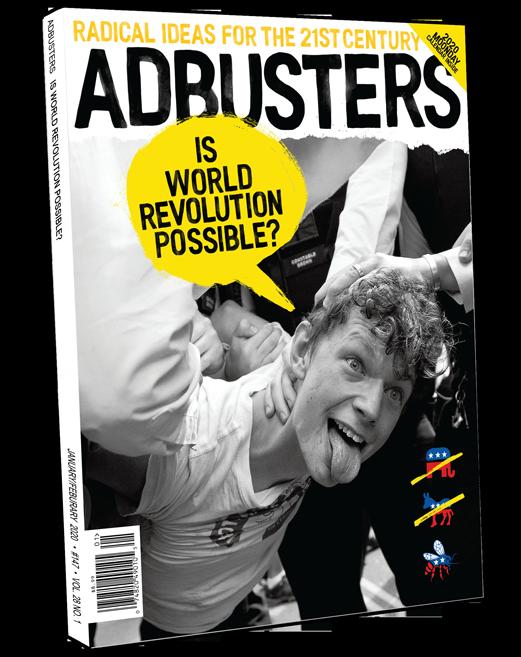 Adbusters #142 The Metameme Insurrection