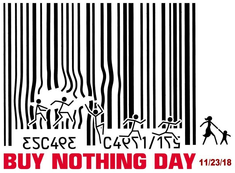Buy Nothing Day 2018