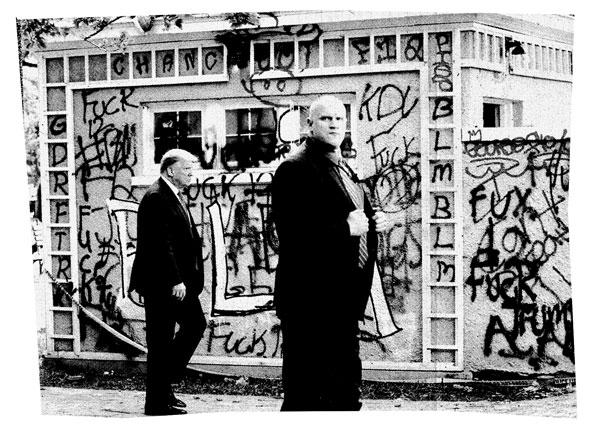 Trump Stranger Graffiti