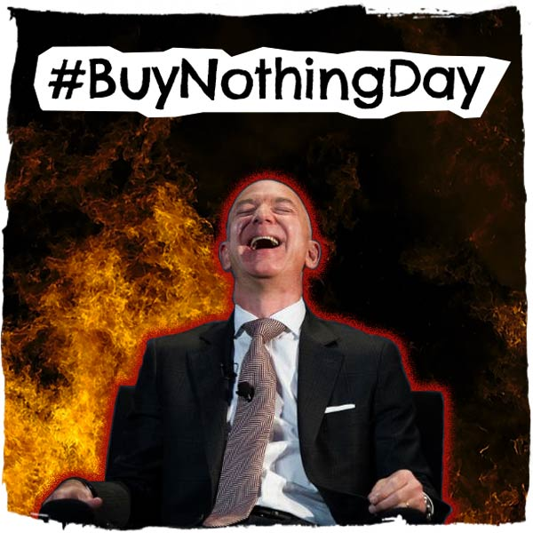 #BuyNothingDay - Tactical Briefing 1