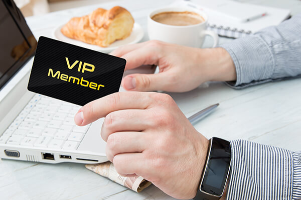 VIP Club Card Membership