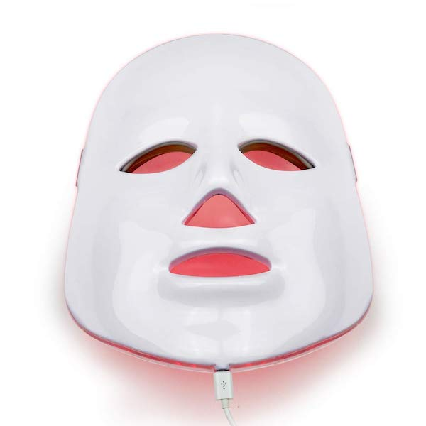 red ight therapy face mask