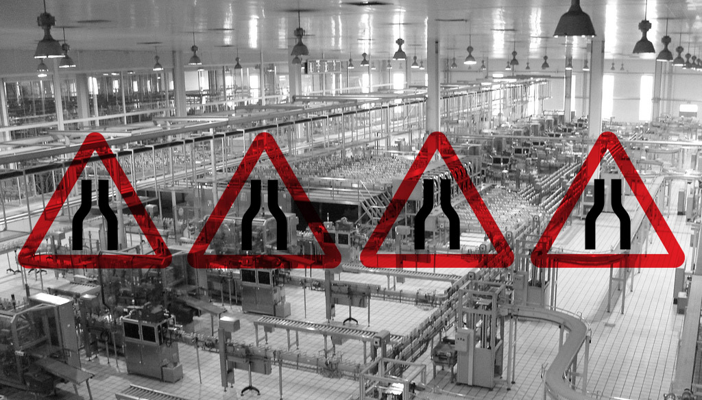 4 places custom manufacturers often experience bottlenecks in production