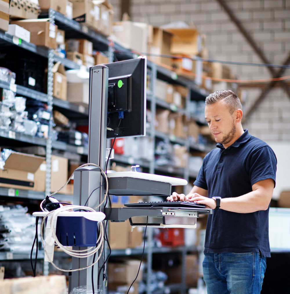 Take the chaos out of the purchasing process with Genius ERP