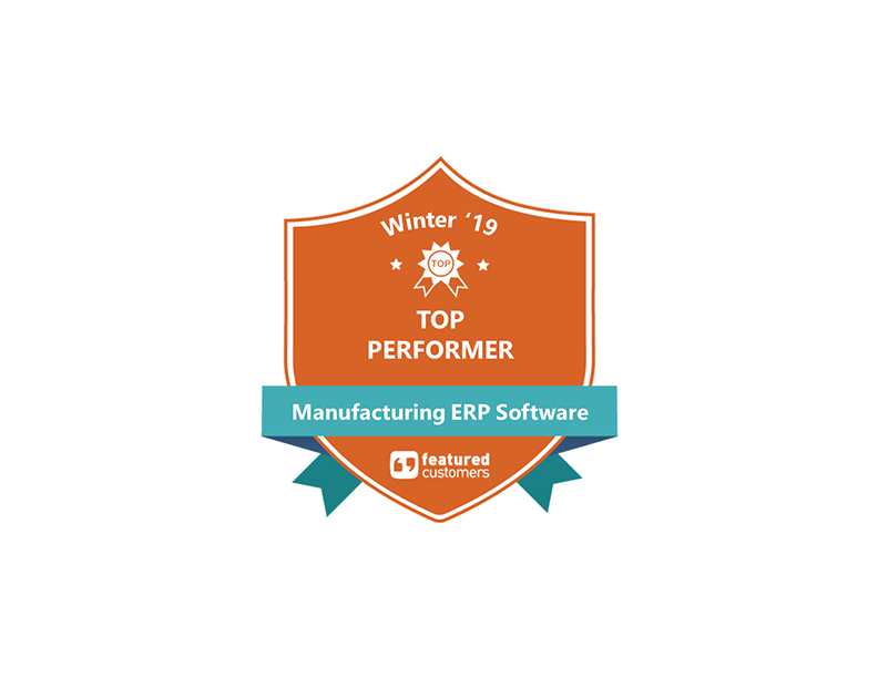 We're a Featured Customers Top Performer!