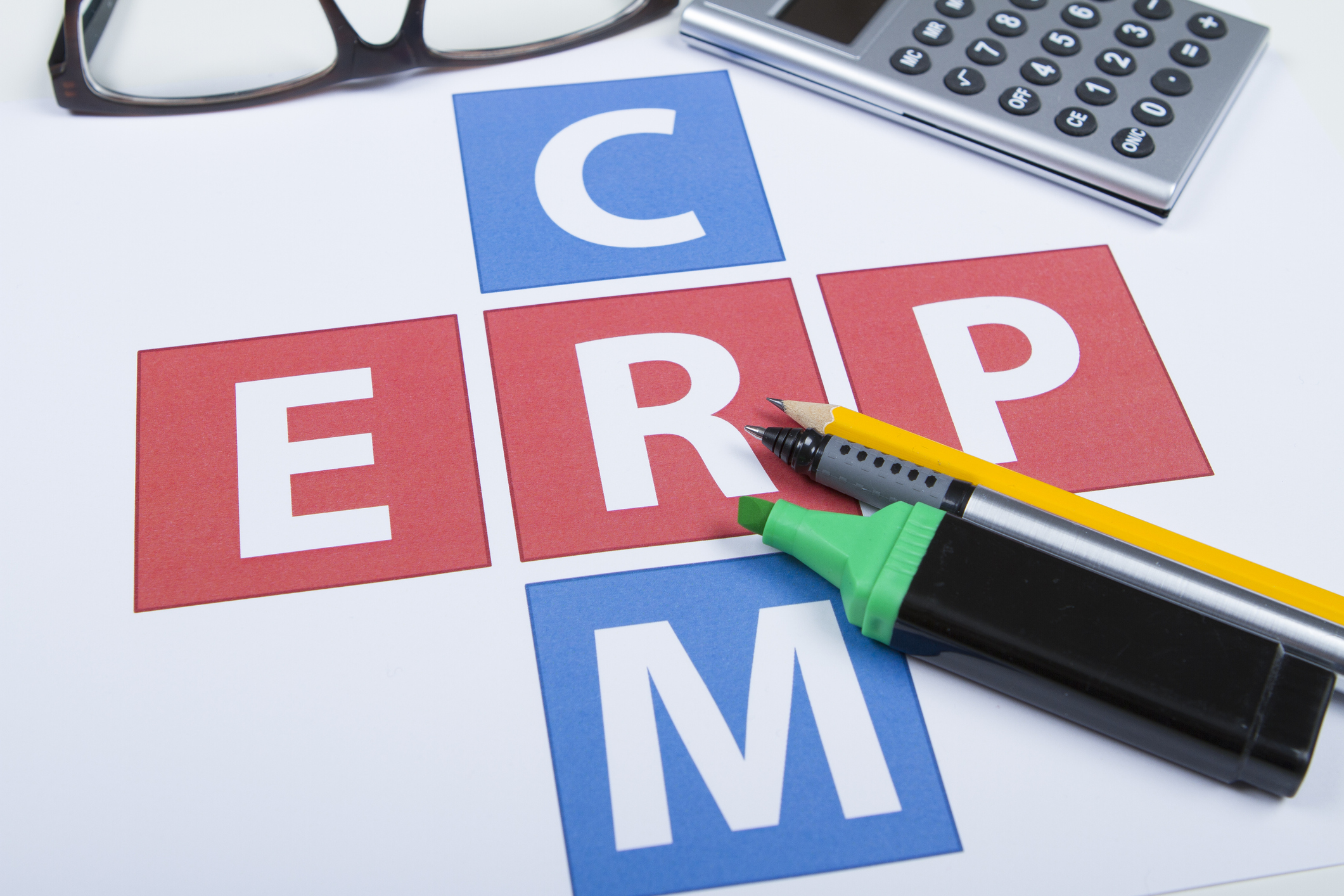 What is the Difference between ERP & CRM Software?